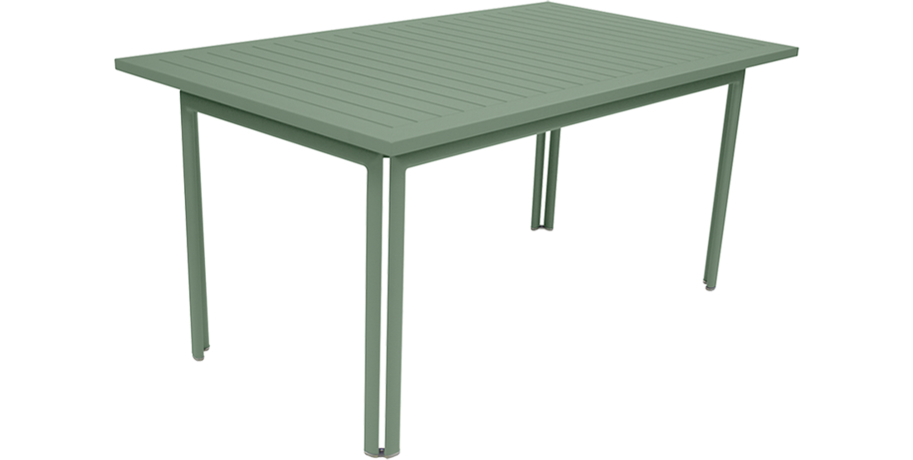 table de jardin metal