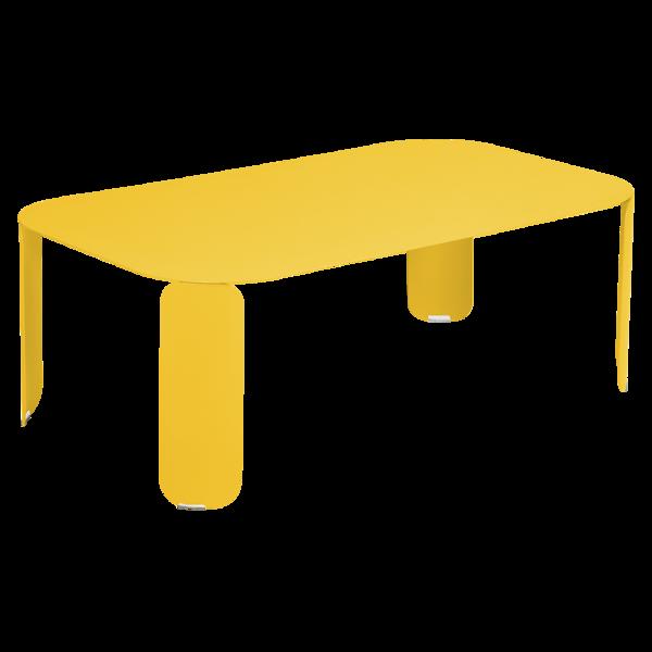 Bebop Low Table 120 X 70 H 42 Cm Fermob Steel Low Table