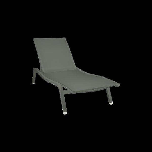 bain de soleil fermob, bain de soleil vert, chaise longue fermob, transat