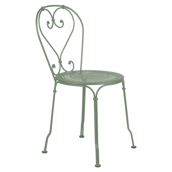 Chaise metal 1900