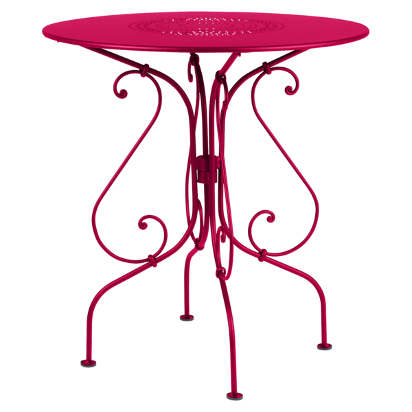 petite table ronde rose