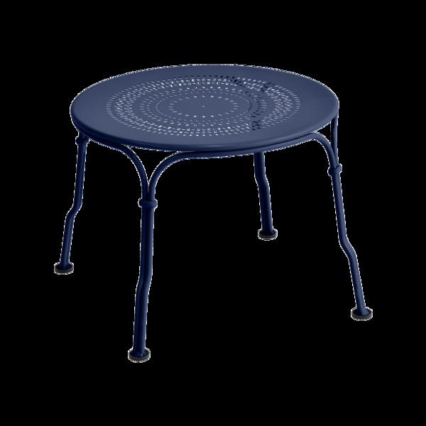 petite table basse table basse bleu, table basse metal