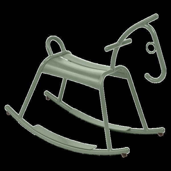 cheval à bascule métal Fermob