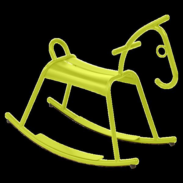 Cheval à bascule métal
