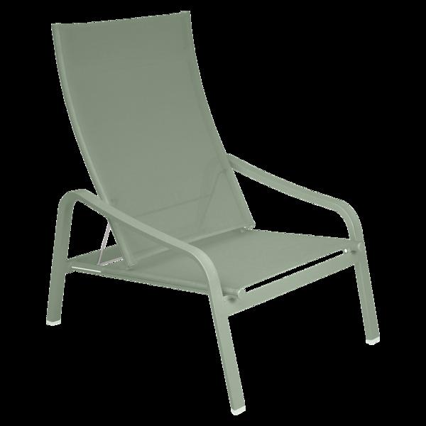 fauteuil de jardin, fauteuil fermob, fauteuil piscine, fauteuil en toile, fauteuil de jardin vert