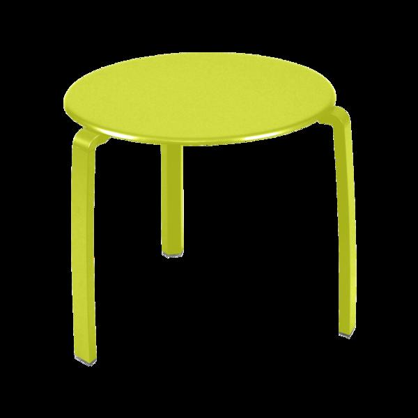 Table basse Alizé, petite table basse jardin en métal