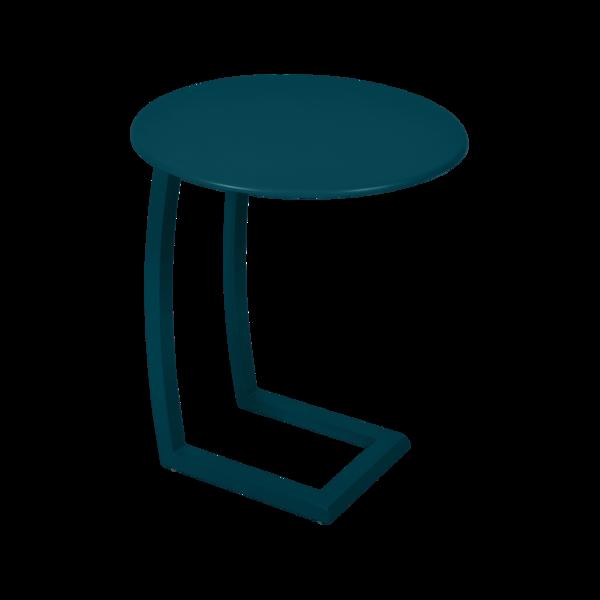 Table basse déportée alizé bleu acapulco