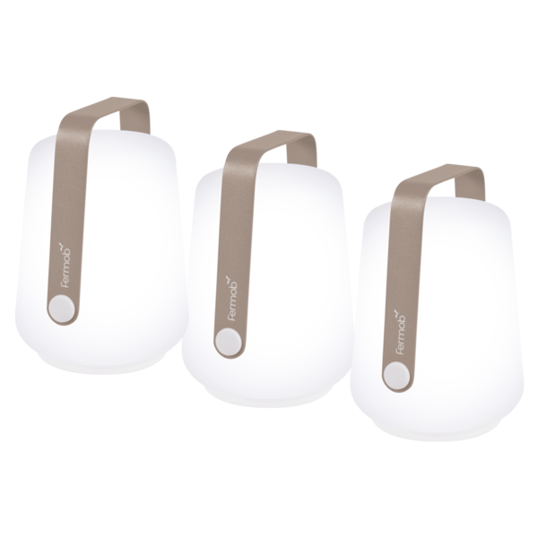lampe fermob, lampe balad, lampe balade, lampe baladeuse, lampe nomade, lampe sans fil, veilleuse, lampe de jardin, lampe fermob beige