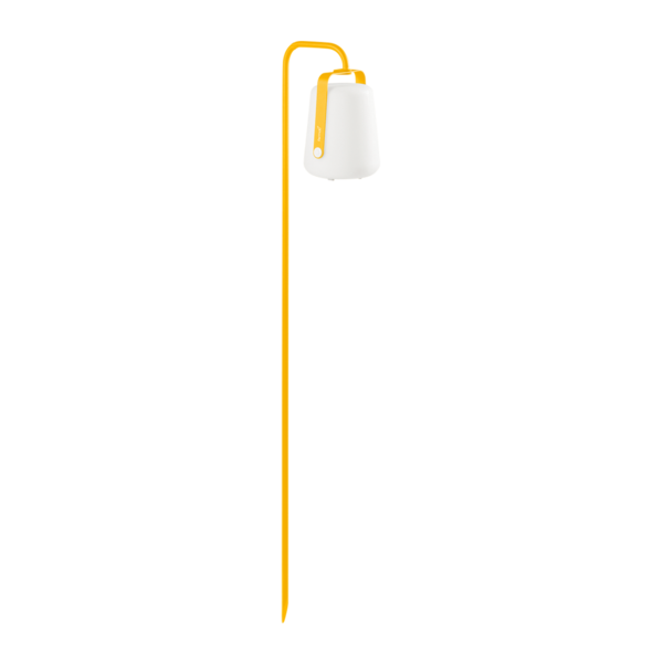 pied a planter balad, pied de lampe balad, pied balad, pied de lampe fermob, pied balad jaune