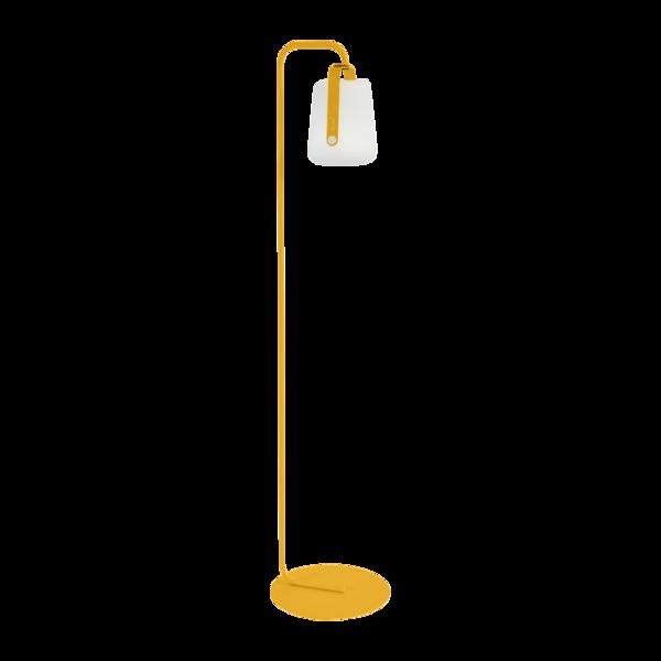 pied de lampe Balad jaune, pied lampe fermob, pied balad