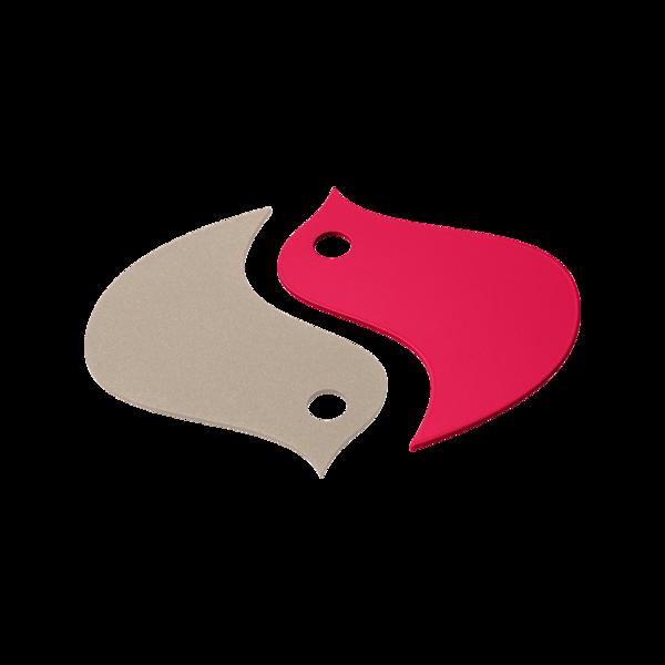 deco de table rose, dessous de plat original, dessous de plat design