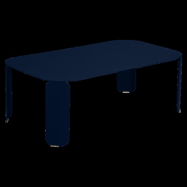 table basse metal, table basse fermob, table basse design, table basse bleu