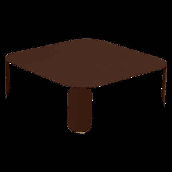 table basse metal, table basse design, table basse fermob, table basse lohner, table basse marron
