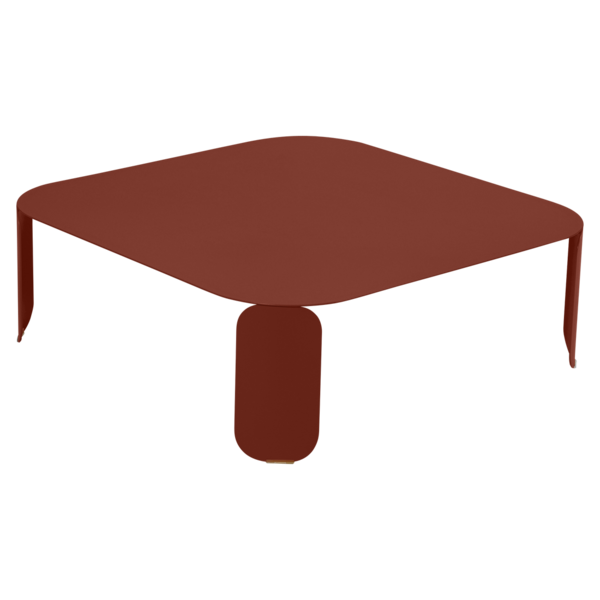 table basse metal, table basse design, table basse fermob, table basse lohner, table basse rouge