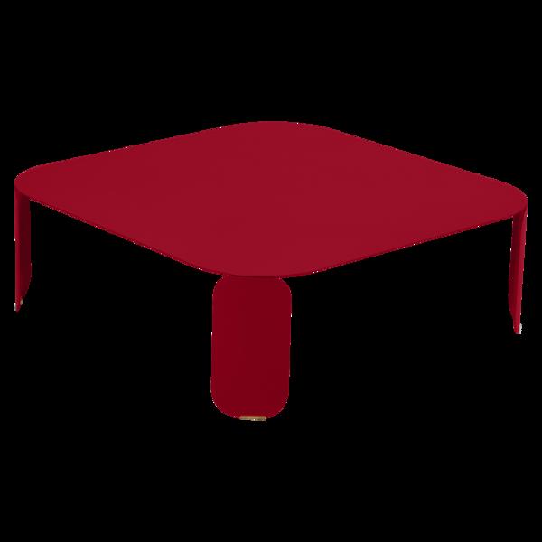 table basse metal, table basse design, table basse fermob, table basse lohner, table basse rouge