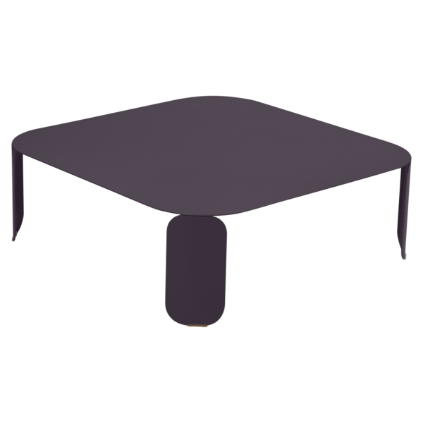 table basse metal, table basse design, table basse fermob, table basse lohner, table basse violet