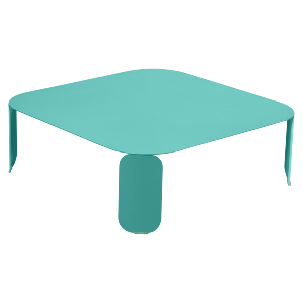 table basse metal, table basse design, table basse fermob, table basse lohner, table basse bleu