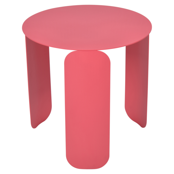 table basse design, table basse metal, table basse fermob, table basse rose