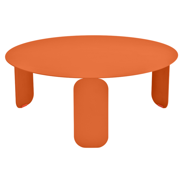 table basse metal, table basse design, table basse fermob, table basse orange
