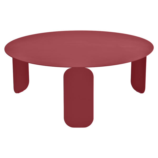 table basse metal, table basse design, table basse fermob, table basse rouge