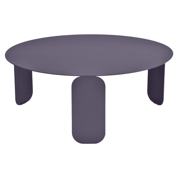 table basse metal, table basse design, table basse fermob, table basse violet