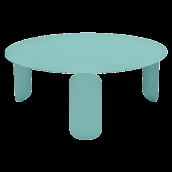 table basse metal, table basse design, table basse fermob, table basse bleu