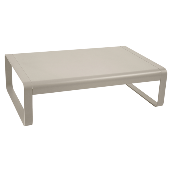 Niedriger Tisch Bellevie, Metalltisch, Gartenmöbel