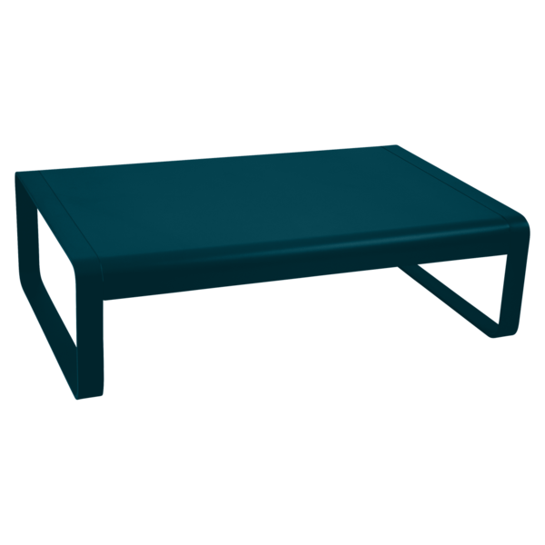 Table basse bellevie bleu acapulco