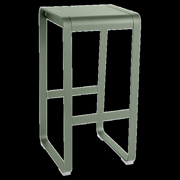 tabouret haut industriel, tabouret haut metal, tabouret de bar en metal, tabouret de bar vert