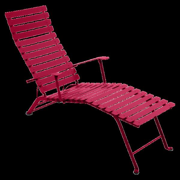 chaise longue pliante, chaise longue metal, chaise longue fermob, chaise longue rose