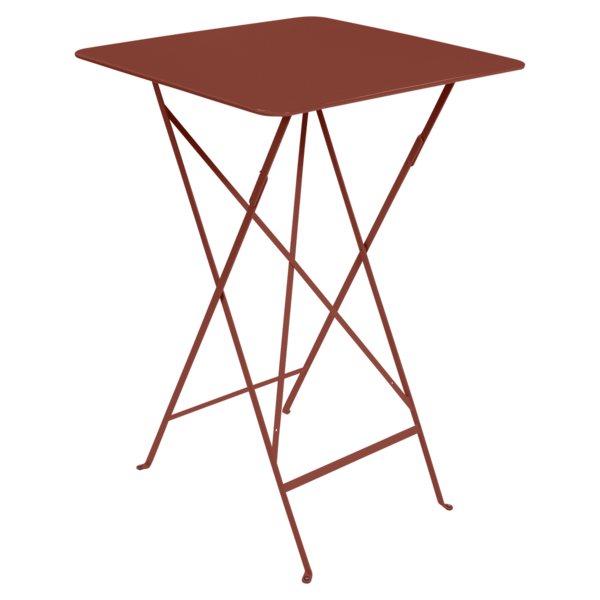 Mange-debout 71 x 71 cm bistro ocre rouge