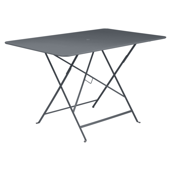 Bistro Table 117x77 Cm Metal Table Outdoor Furniture