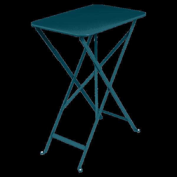 Table 37 x 57 cm bistro bleu acapulco