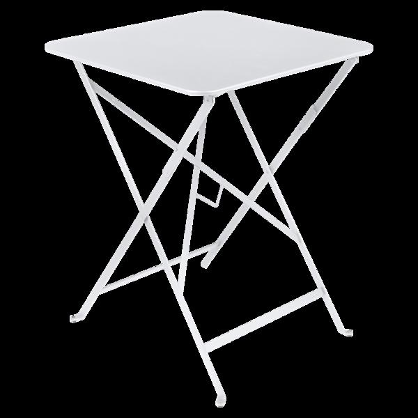 petite table pliante, petite table metal, table balcon, petite table blanche