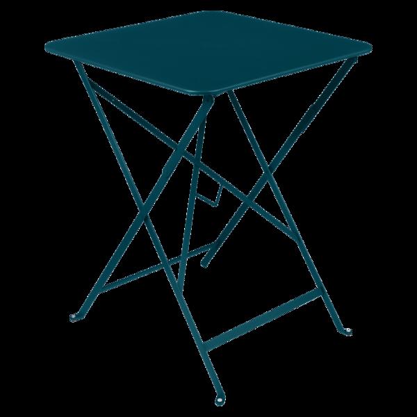 Table 57x57 cm bistro bleu acapulco