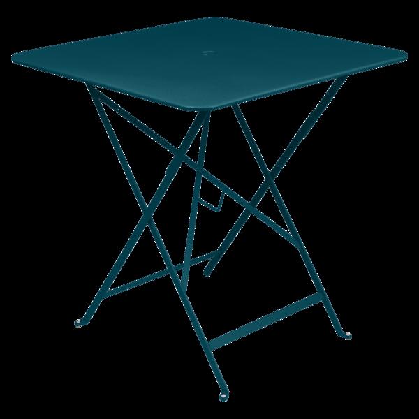Table 71x71 cm bistro bleu acapulco
