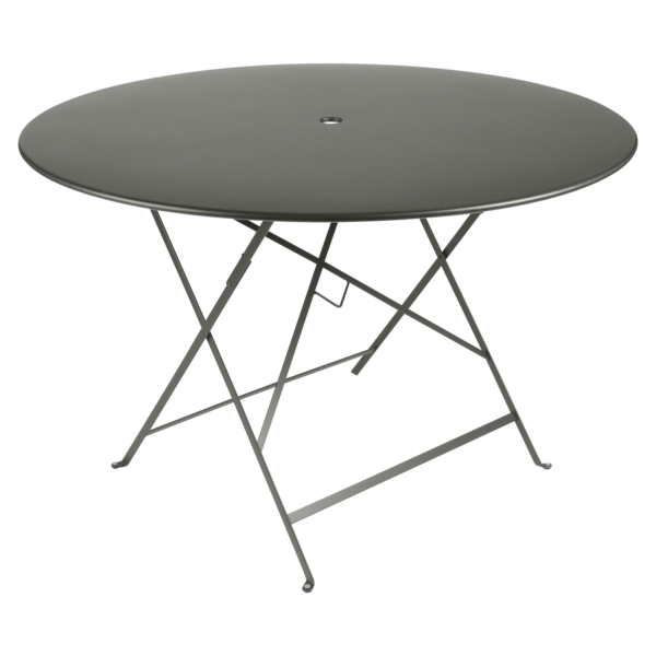 Table Bistro ronde 117 cm, table de jardin, table ronde jardin
