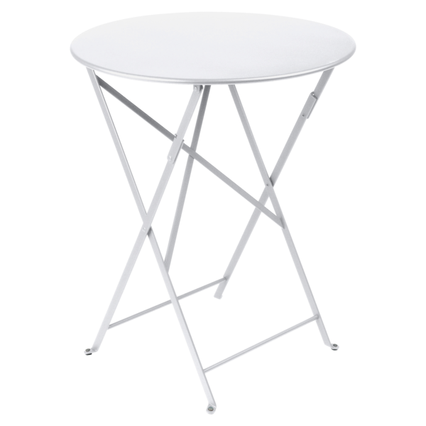 petite table metal, table de jardin fermob, table bistro, petite table pliante, table blanche