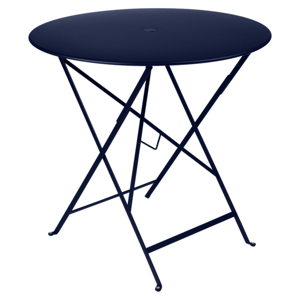 petite table metal, table de jardin fermob, table bistro, petite table pliante, table bleu