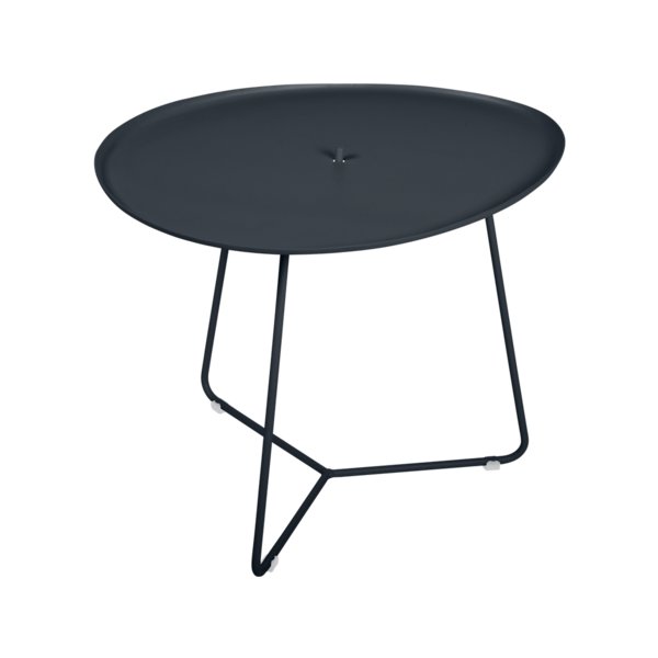 table basse metal, table basse fermob, table basse de jardin, table basse noir