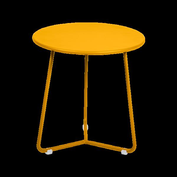 tabouret bas metal, table de chevet, table d appoint, petite table basse jaune