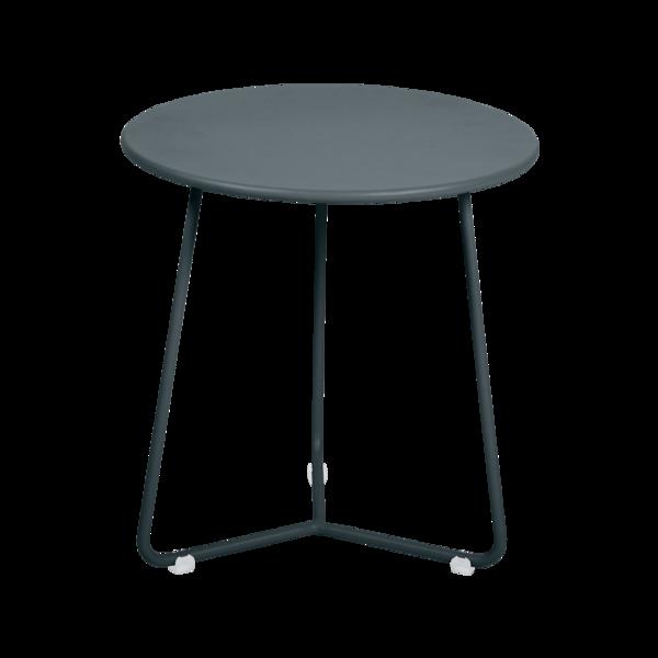 tabouret bas metal, table de chevet, table d appoint, petite table basse gris