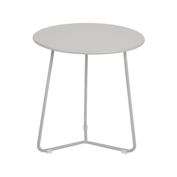tabouret bas metal, table de chevet, table d appoint, petite table basse gris
