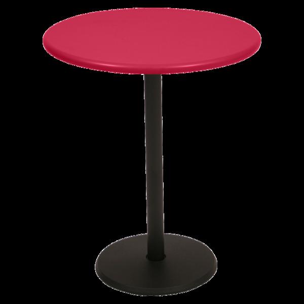 petite table metal, gueridon fermob, petite table ronde, gueridon rond, gueridon metal