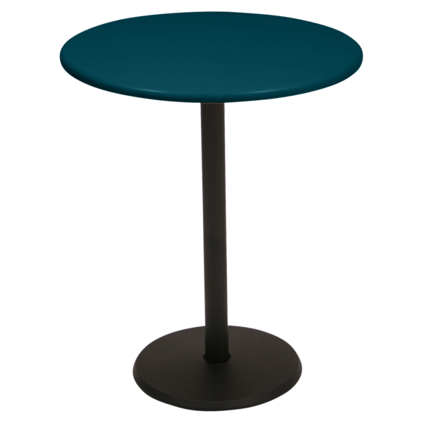 Table Ø 60 cm concorde bleu acapulco