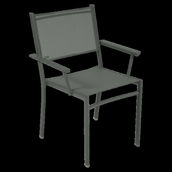 chaise fermob, chaise en toile, fauteuil de jardin fermob, chaise fermob verte
