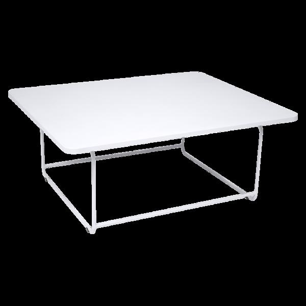 table basse metal, table basse de jardin, table basse blanche, table basse design
