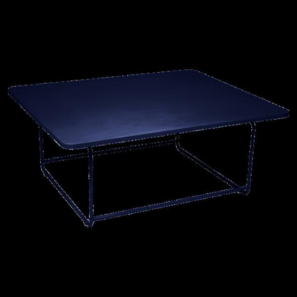table basse metal, table basse de jardin, table basse bleu, table basse design