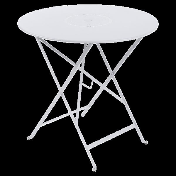 table ronde metal, table ronde jardin, table ronde terrasse, table de jardin, table blanche