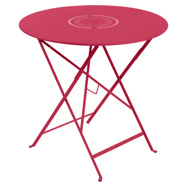 table ronde metal, table ronde jardin, table ronde terrasse, table de jardin, table rose